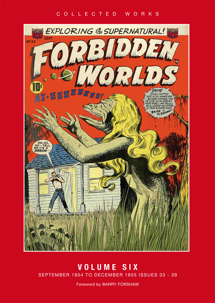 ACG Collected Works FORBIDDEN WORLDS vol 4 July '53 - January '54 Issues 19-25